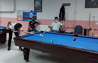Karaman'da Cumhuriyet Kupası Bilardo Heyecanı