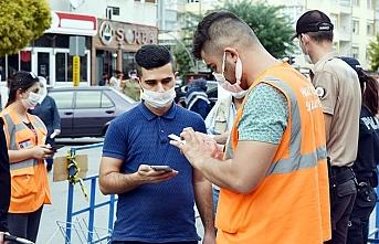 Karaman'da Gönüllü Salgın Denetçiliğine İki...