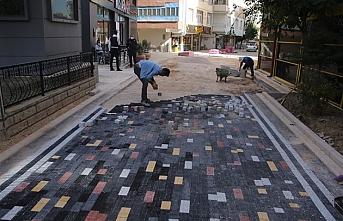 Sokaklar Daha Güzel Daha Modern Hale Getiriliyor