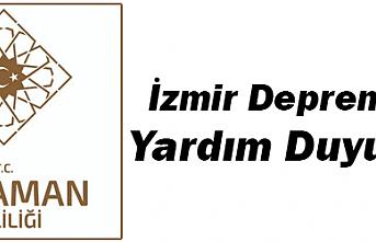 Karaman Valiliğinden İzmir Depremi İçin Yardım Duyurusu