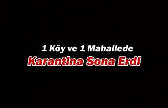 Karaman'da 1 Köy ve 1 Mahallede Karantina Sona...