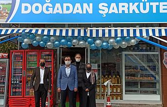 Karaman'da Doğadan Şarküteri Açıldı