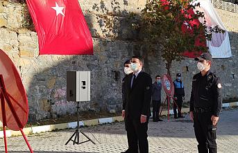 Sarıveliler'de 10 Kasım Törenleri