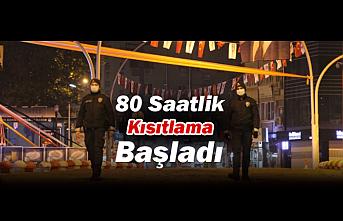 Karaman'da 80 Saatlik Kısıtlama Başladı