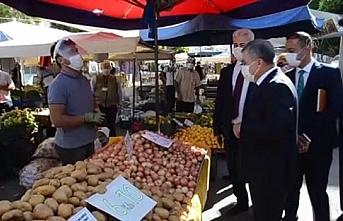 Karaman'da Semt Pazarı İle İlgili Yeni Koronavirüs...
