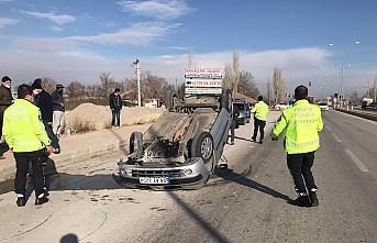 Ereğli'de İki Otomobil Çarpıştı: 1 Yaralı