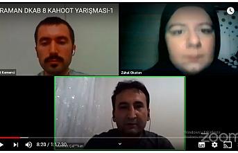 Karaman'da Bilgi Yarışmasında Ödül Kazananlar...