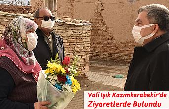 Vali Işık Kazımkarabekir'de Ziyaretlerde Bulundu