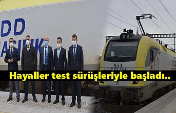 Konya-Karaman YHT Test Sürüşleri Başladı