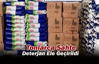 Konya'da Tonlarca Sahte Deterjan Ele Geçirildi