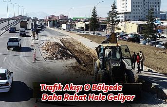 Trafik Akışı O Bölgede Daha Rahat Hale Geliyor
