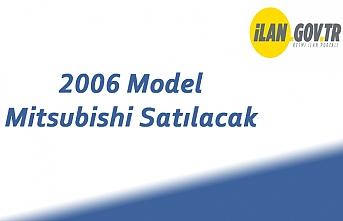 2006 Model Mitsubishi Satılacak