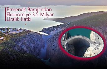 Ermenek Barajı'ndan Ekonomiye 3.5 Milyar Liralık...