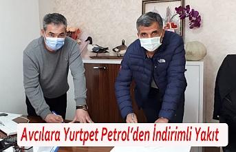 Avcılara Yurtpet Petrol'den İndirimli Yakıt