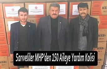 Sarıveliler MHP'den 150 Aileye Yardım Kolisi