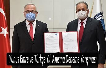 Yunus Emre ve Türkçe Yılı Anısına Deneme Yarışması