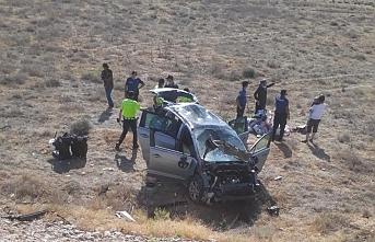 Karaman'da Otomobil Takla Attı: 10 Yaralı
