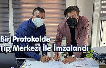 Bir Protokolde Tıp Merkezi İle İmzalandı