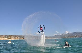 Su Sporları ve Tekne Turları Büyük Beğeni Topladı