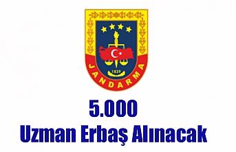 5.000 Uzman Erbaş Alınacak