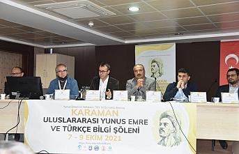 'Karaman Uluslararası Yunus Emre ve Bilgi Şöleni'...