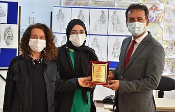 Türkiye Birincisi Karaman Güzel Sanatlar Lisesinden