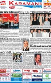 www.kgrt.net - 17.05.2019 Manşeti