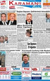 www.kgrt.net - 23.08.2019 Manşeti
