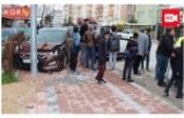 Çocuklara Çarpmamak İçin Otomobile Çarptı: 2 Yaralı