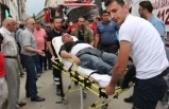 Çıkan Yangında Dumandan Etkilenen Vatandaş Hastaneye Kaldırıldı