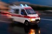İşci Servisi Kaza Yaptı:8 Yaralı