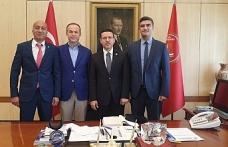 Umut Aydın Ankara'da Ziyaretlerde Bulundu