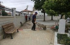 Kazalpa Mezarlığı Yenileme Çalışması Yapıldı
