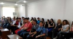 Balkan Türkleri'nden Belediyeyi Ziyaret