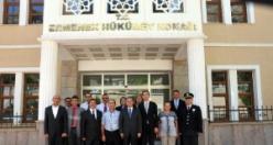 Vali Tapsız, Ermenek'te İncelemelerde Bulundu