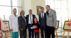 """""""Organ Bağışı"""" Konulu Resim Yarışmasının Ödülleri Verildi"""