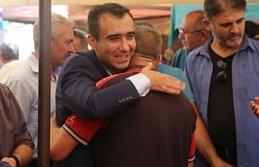 Başkan Kalaycı Pazarcı Esnafı Ve Vatandaşlarla Bayramlaştı