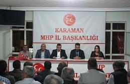 MHP İlk Yönetim Kurulu Toplantısını Yaptı