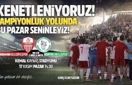 Karaman Belediyespor'un Konuğu Konya Ereğlispor
