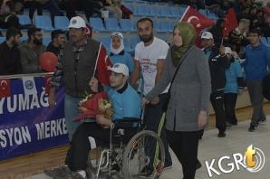 KMÜ'de Engelliler Spor Şöleni Düzenlendi