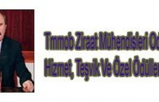 Tmmob Ziraat Mühendisleri Odasi Bilim, Hizmet, Tesvik...