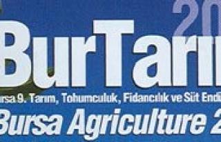 Bursa 9. Tarim ve Hayvancilik Fuari Açiliyor