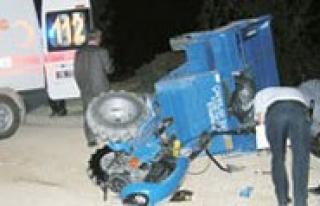 Çapa Motoru Devrildi: 1 Ölü, 2 Yarali