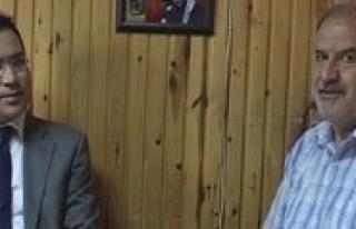 Yilmaz Simsek'ten Veda Ziyareti