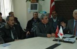Muhtarlar Dernegi Genel Baskani Özünal Karaman'da