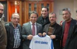 70 Karaman Spor Yönetiminden Emniyet Müdürü Sönmez'e...