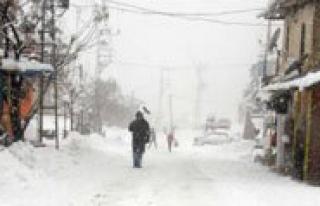 Karaman`in Yüksek Kesimlerinde Kar Yagisi Hayati...