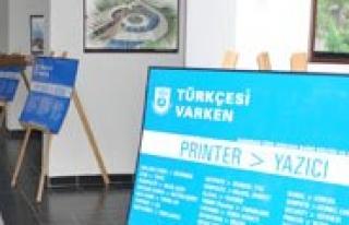 Karaman Belediyesi'nden ``Türkçesi Varken`` Kampanyasi