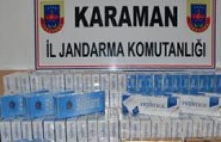 4 Bin Paket Kaçak Sigara Ele Geçirildi