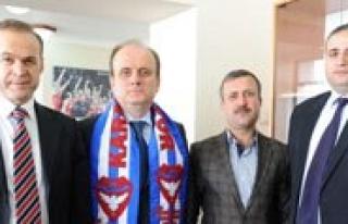 70 Karamanspor Yönetiminden Baykan'a Ziyaret